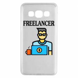 Чехол для Samsung A3 2015 Freelancer text