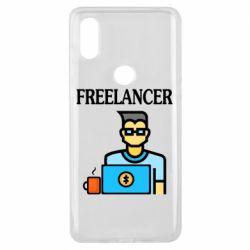 Чехол для Xiaomi Mi Mix 3 Freelancer text