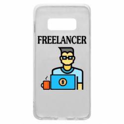 Чехол для Samsung S10e Freelancer text