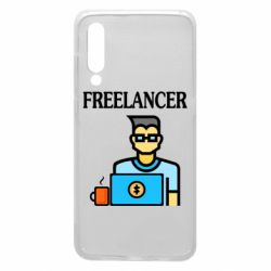 Чехол для Xiaomi Mi9 Freelancer text