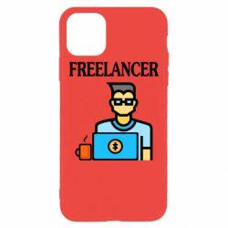 Чехол для iPhone 11 Pro Max Freelancer text