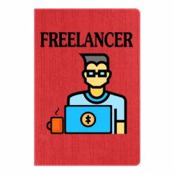 Блокнот А5 Freelancer text