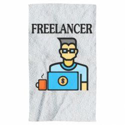 Полотенце Freelancer text