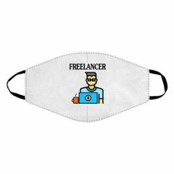 Маска для лица Freelancer text