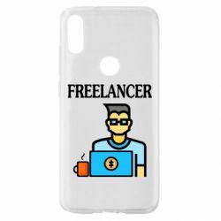 Чехол для Xiaomi Mi Play Freelancer text