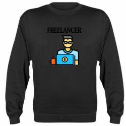 Реглан (свитшот) Freelancer text
