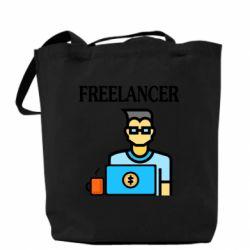 Сумка Freelancer text
