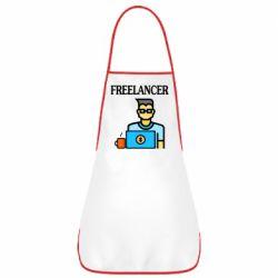 Фартук Freelancer text