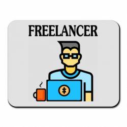Коврик для мыши Freelancer text
