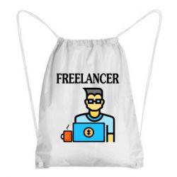 Рюкзак-мешок Freelancer text