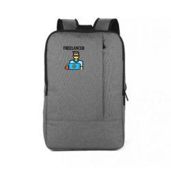 Рюкзак для ноутбука Freelancer text