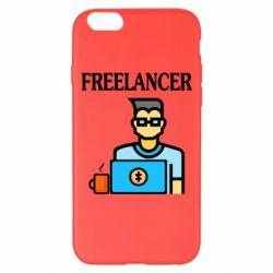 Чехол для iPhone 6 Plus/6S Plus Freelancer text