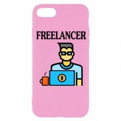 Чехол для iPhone 7 Freelancer text