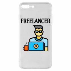 Чехол для iPhone 7 Plus Freelancer text