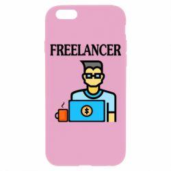 Чехол для iPhone 6/6S Freelancer text