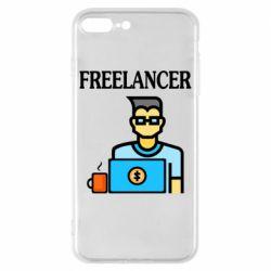 Чехол для iPhone 8 Plus Freelancer text