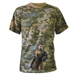 Камуфляжная футболка Freeman - FatLine