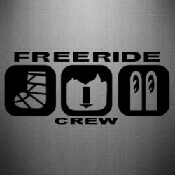 Наклейка Freeride Crew - FatLine