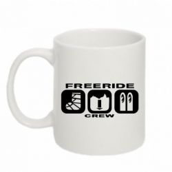 Кружка 320ml Freeride Crew - FatLine