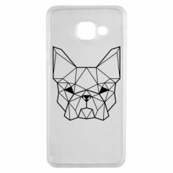 Чехол для Samsung A3 2016 French Bulldog Art