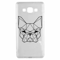 Чехол для Samsung A5 2015 French Bulldog Art