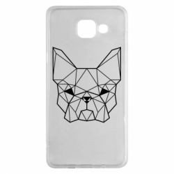 Чехол для Samsung A5 2016 French Bulldog Art