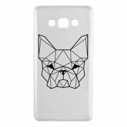 Чехол для Samsung A7 2015 French Bulldog Art