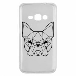 Чехол для Samsung J1 2016 French Bulldog Art