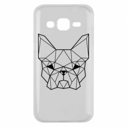 Чехол для Samsung J2 2015 French Bulldog Art
