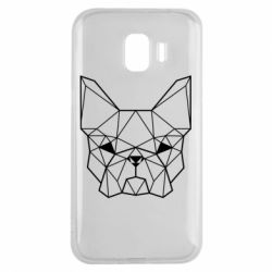 Чехол для Samsung J2 2018 French Bulldog Art