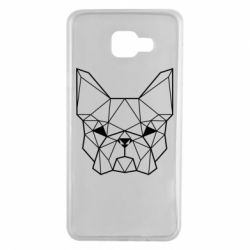 Чехол для Samsung A7 2016 French Bulldog Art