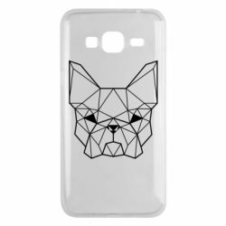 Чехол для Samsung J3 2016 French Bulldog Art