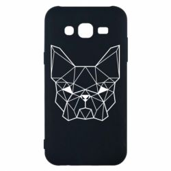 Чехол для Samsung J5 2015 French Bulldog Art
