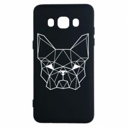 Чехол для Samsung J5 2016 French Bulldog Art