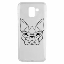 Чехол для Samsung J6 French Bulldog Art