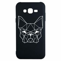 Чехол для Samsung J7 2015 French Bulldog Art