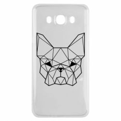 Чехол для Samsung J7 2016 French Bulldog Art