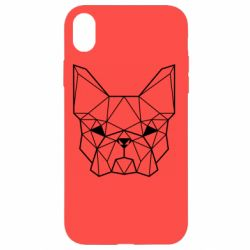 Чехол для iPhone XR French Bulldog Art