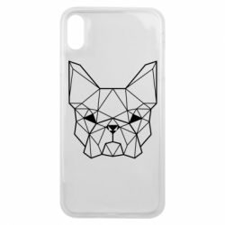 Чехол для iPhone Xs Max French Bulldog Art