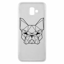 Чехол для Samsung J6 Plus 2018 French Bulldog Art