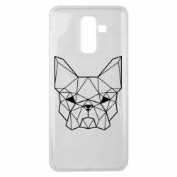 Чехол для Samsung J8 2018 French Bulldog Art