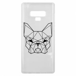 Чехол для Samsung Note 9 French Bulldog Art