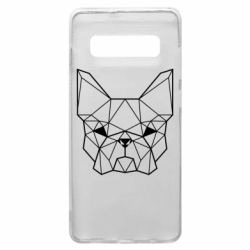 Чехол для Samsung S10+ French Bulldog Art
