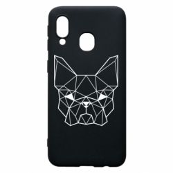 Чехол для Samsung A40 French Bulldog Art