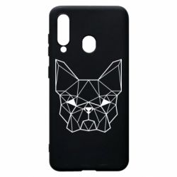 Чехол для Samsung A60 French Bulldog Art