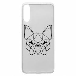 Чехол для Samsung A70 French Bulldog Art