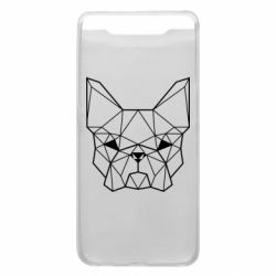 Чехол для Samsung A80 French Bulldog Art