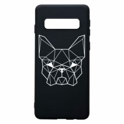 Чехол для Samsung S10 French Bulldog Art