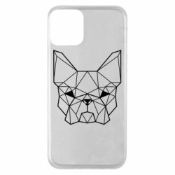 Чехол для iPhone 11 French Bulldog Art