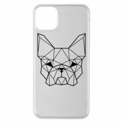 Чехол для iPhone 11 Pro Max French Bulldog Art